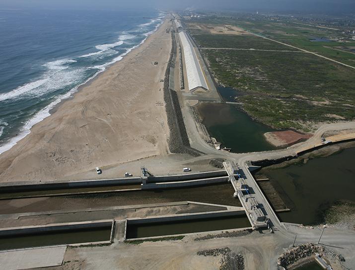 宮城県 南部海岸堤防