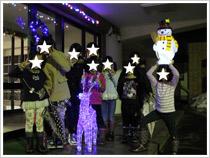 弘前愛成園 園児たちへクリスマスプレゼント