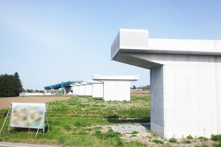 国道115号(福島県相馬市)
